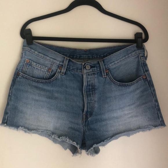 Levi's Pants - Levi's 501 high rise button fly shorts SZ 30